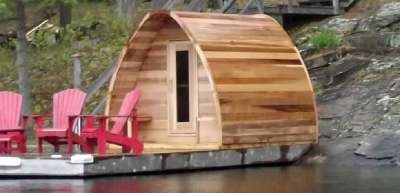 Award Leisure Cedar Pod Saunas